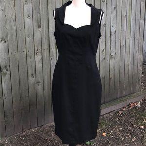 David Meister Little Black Dress Size 10